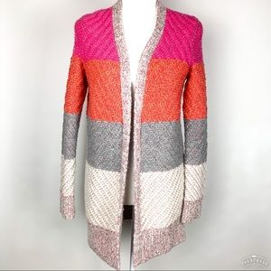 American Eagle | Alpaca Blend Colorblock Cardigan